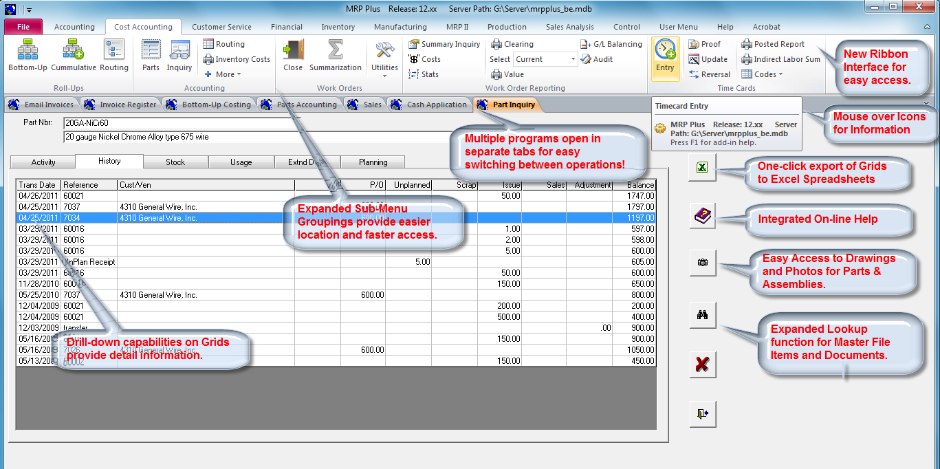 Mrp Plus Erp Software For Manufacturers